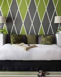 Designs For Homes Interior Argyle Headboard Wall Benjamin Moore Colors 406 Huntington Green