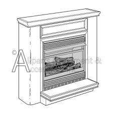 Desa Ventless Fireplace - vmh26tpa desa vent free compact gas fireplace