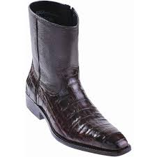 caiman crocodile dress boots genuine exotic skin los altos boots