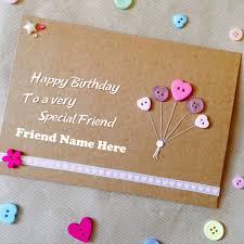 special birthday wish card for friend name whatsapp dp pics
