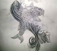tattoo artist design beautiful koi fish tattoo design