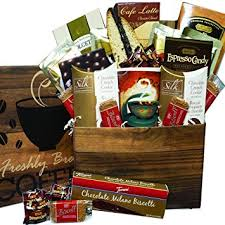 gourmet coffee gift baskets coffee care package snacks and treats gift box