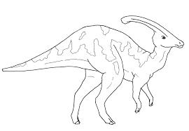 parasaurolophus coloring page funycoloring