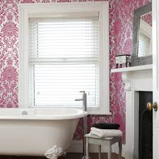 wallpaper bathroom designs bathroom wallpapers ideal home