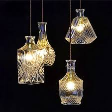 aliexpress com buy vintage pendant lights clear glass hanging