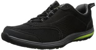 clarks men u0027s outset trail walking shoe black yellow 12 m us