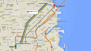 Map My Route by How To Use The New Google Maps Directions Youtube