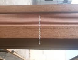 Floor Tile Skirting Wooden Plastic Composite Skirting Wooden Plastic Composite