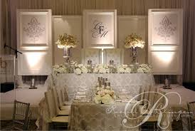 wedding backdrop toronto monogrammed wedding backdrop by a clingen wedding design