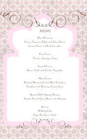 Sample Buffet Menus by Fannie U0027s Sweet Confections