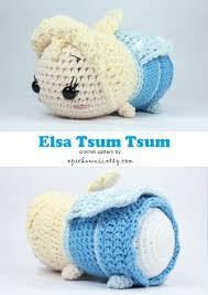 etsy crochet pattern amigurumi pattern elsa tsum tsum crochet amigurumi doll by epickawaii on etsy