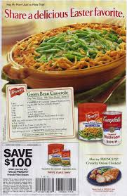 the original green bean casserole recipe cbell soup company