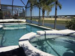 orlando tropical villa water view pool u0026 spa 3 5 miles to