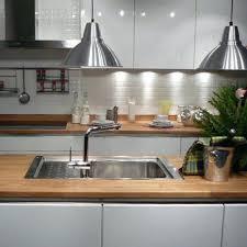 cuisine plan travail bois cuisine plan travail bois un plan de travail au look minral le