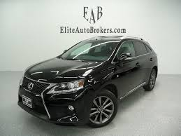 lexus rx 350 year 2015 2015 used lexus rx 350 rx350 awd f sport at elite auto brokers
