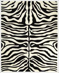 Cheap Animal Skin Rugs Furniture Wonderful Zebra Area Rug Black White Cheetah Print