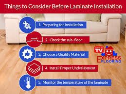things to consider before laminate installation express flooring