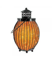 himalayan glow ionic crystal salt basket l lantern style pink salt basket l himalayan glow