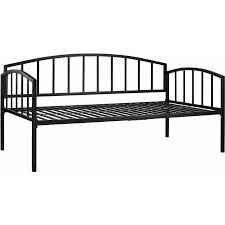 Metal Daybed Frame Mainstays Twin Metal Daybed Black Walmart Com