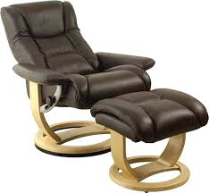 bright good looking modern leather swivel recliner chair rocker