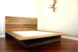 log bed frame kit reclaimed wood platform bed barn wood bed frame