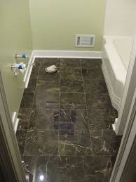 How To Lay Tile In A Bathroom Floor Bathroom Renovation How To Install Baseboards U0026 Trim Young