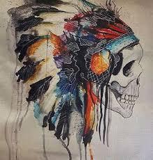 indian sugar skull mermaid cushion cover