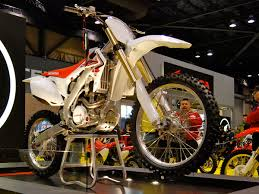 first motocross bike honda crf series wikipedia