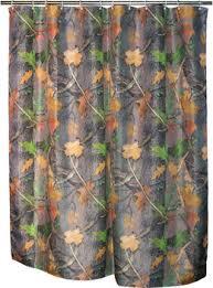 Camo Shower Curtain Deer Shower Curtain