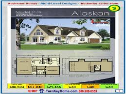 Multi Level Floor Plans Alaskan Rochester Modular Home Cape Cod Multi Level Plan Price