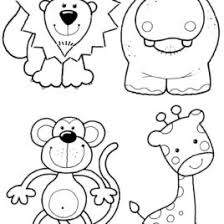 free preschool coloring pages zoo animals archives mente beta