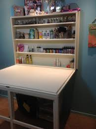 Diy Murphy Desk Murphy Craft Table Craft Desk Desks And Crafts