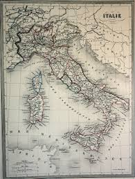 Maps Of Italy by Malte Brun Map Of Italy 1861