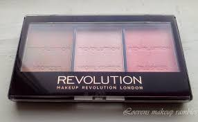 makeup revolution ultra sculpt u0026 contour kit review loevens