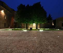 illuminazione a pavimento luce da incasso a pavimento a lada fluorescente quadrata