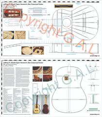 House Plan 45 8 62 4 by Instrument Plans Guild Of American Luthiers