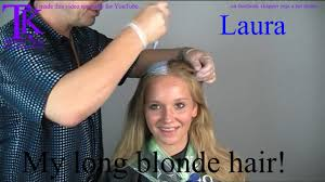 theo knoop new hair today my long blonde hair laura by theo knoop youtube