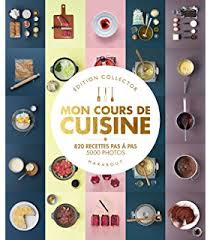images de cuisine mon cours de cuisine amazon co uk marabout 9782501075190 books
