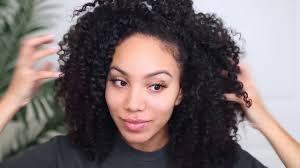 medium length cute hairstyles easy cute hairstyles for medium length natural curly hair youtube