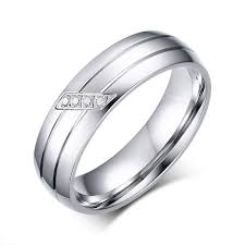 stainless steel rings for men gorgeous couples stainless steel ring women men s wedding band