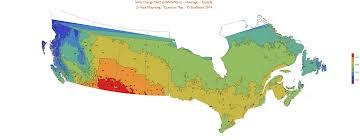 solar maps of canada ecosmart solar