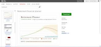 Spreadsheet For Retirement Planning Get Organized With Budget Templates For Microsoft Office
