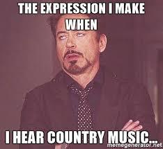 Internet Meme Songs - top ten country songs in november