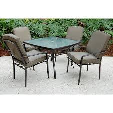 sc j 250 2nnset irvington 5 pc patio dining set sears outlet