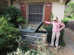 water trough planter the bicycle garden setting up a galvanized stock tank as a rain