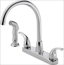 Delta White Kitchen Faucet by Kitchen Moen Single Handle Kitchen Faucet White Kitchen Sink