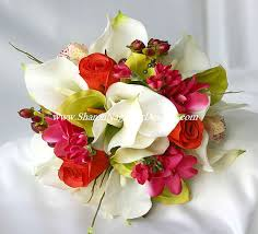 silk flowers for wedding real touch flowers wedding packages touch flowers silk