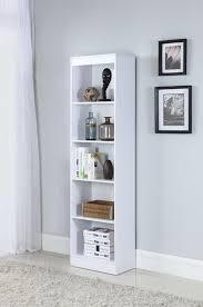 Narrow Bookcase 5 Shelf Narrow Bookcase 801799 Bookcases Furniture