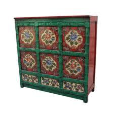 credenza tibetana credenza tibetana con sportelli e cassetti 110x110x40 codice ma