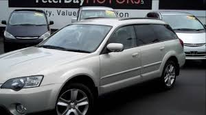 used subaru outback for sale 2005 subaru outback 2 5l travelled 127 000 km for sale at peter
